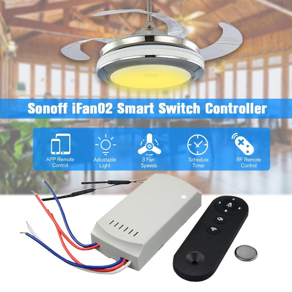 iFan02 Fan Smart Switch Convert Fan to Wifi Smart Control